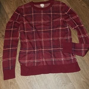 A New Day Crew Neck Pull-Over Sweater Size Medium